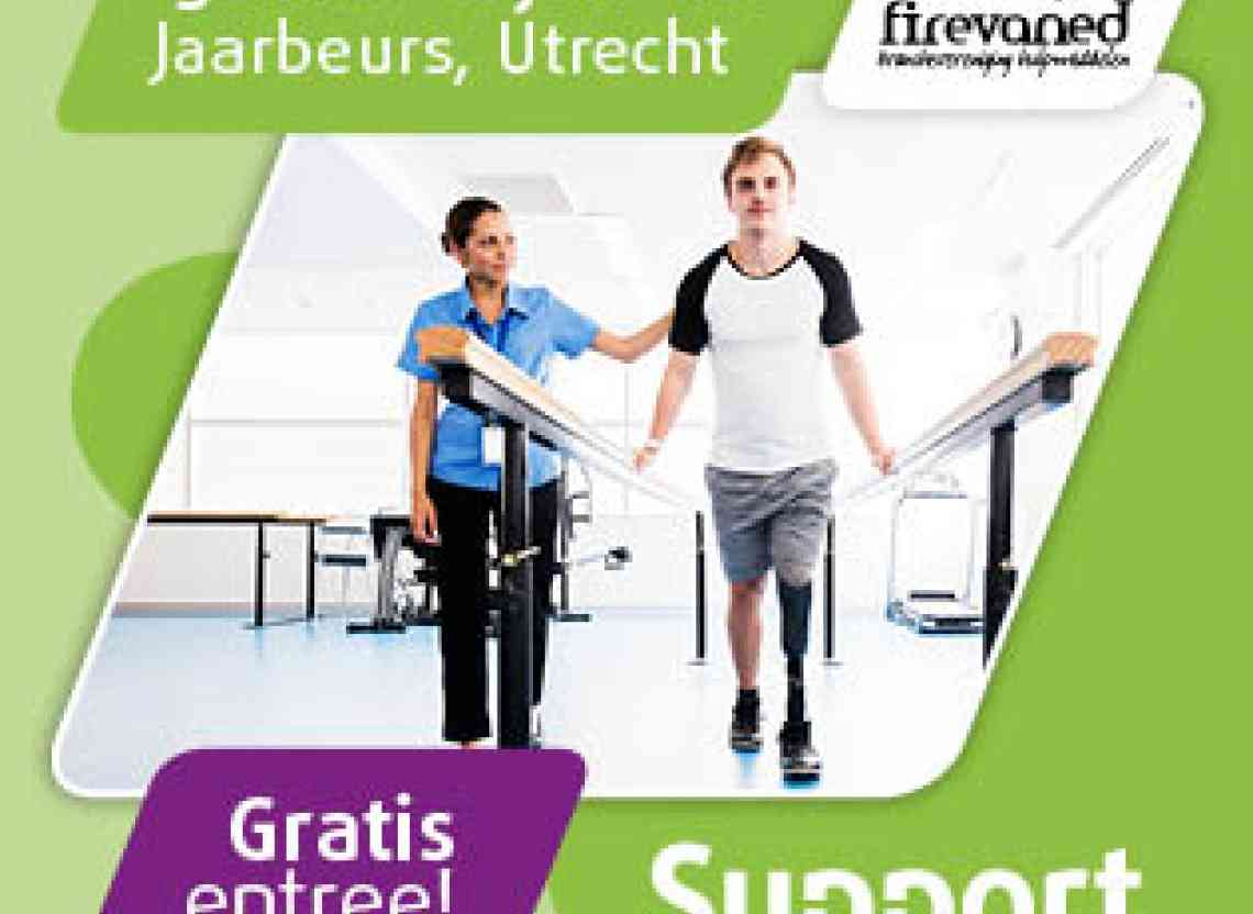 Logo Supportbeurs 2018  - O4 Wheelchairs